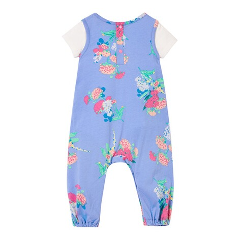 Tom Joule2-tlg. Set Body kurzarm und Jumpsuit Blumen 2
