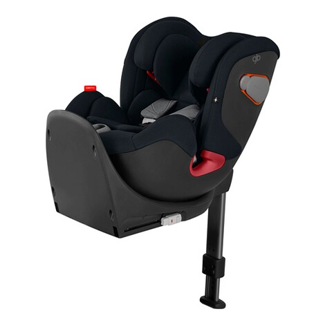 gbGOLDConvy-fix Kindersitz  velvet black 1