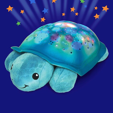 Cloud BNachtlicht Twinkling Twilight Turtle  aqua 2