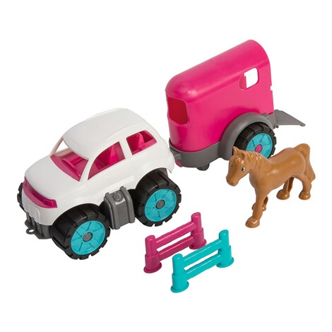 BIGPower-Worker Mini Ponytransporter-Set 2