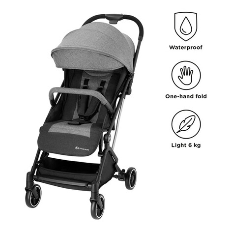 KinderkraftIndy Buggy mit Liegefunktion  gray 2