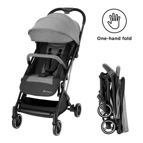 KinderkraftIndy Buggy mit Liegefunktion  gray 3
