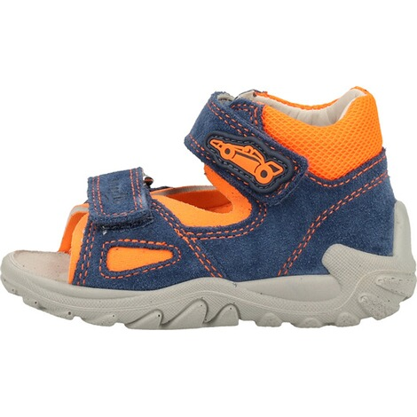 superfitSandalen  Blau/Orange 2