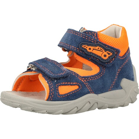 superfitSandalen  Blau/Orange 3