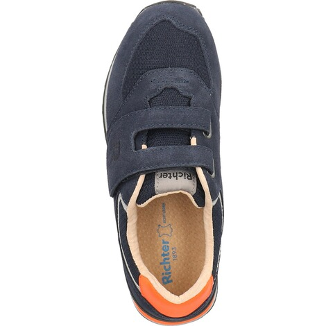 Richter KinderschuheSneaker  Blau/Orange 6