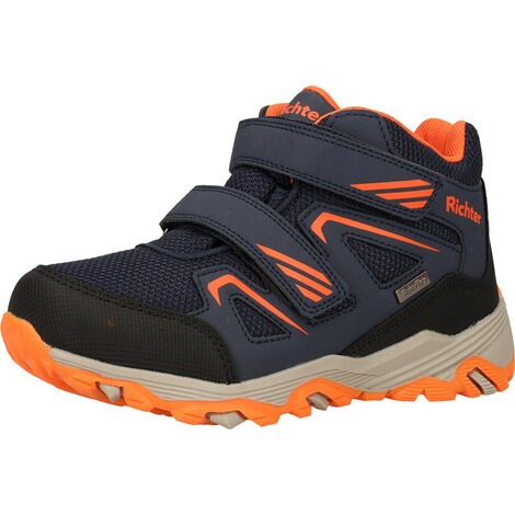 Richter KinderschuheStiefelette  Blau/Orange 3