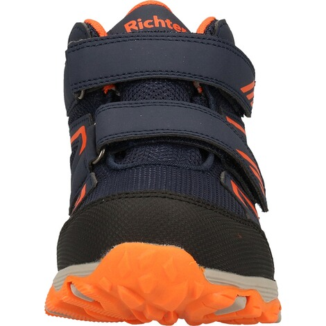 Richter KinderschuheStiefelette  Blau/Orange 4