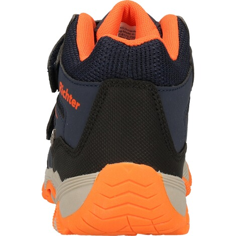 Richter KinderschuheStiefelette  Blau/Orange 5