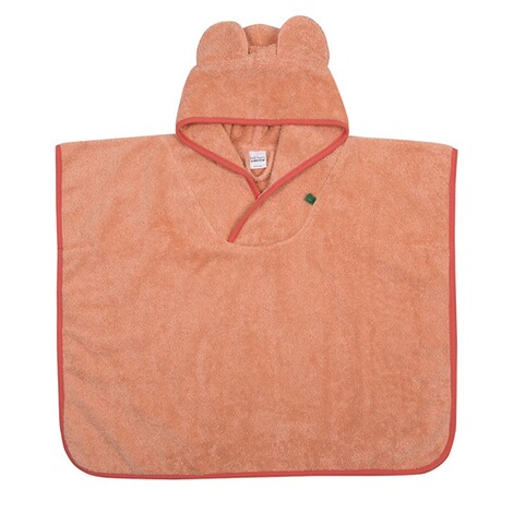 Fred`s WorldPoncho Frottee  Peach 1