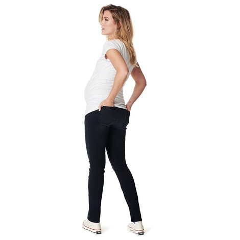 NoppiesSlim Umstandsjeans Mila  Midnight Blue 3