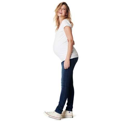 NoppiesSlim Umstandsjeans Mila  Everyday Blue 4