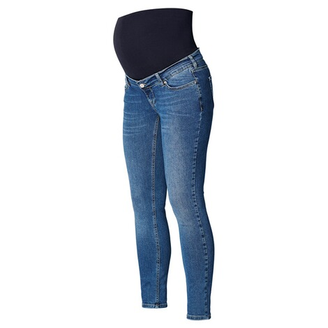 NoppiesSkinny Umstandsjeans Avi  Everyday Blue 3