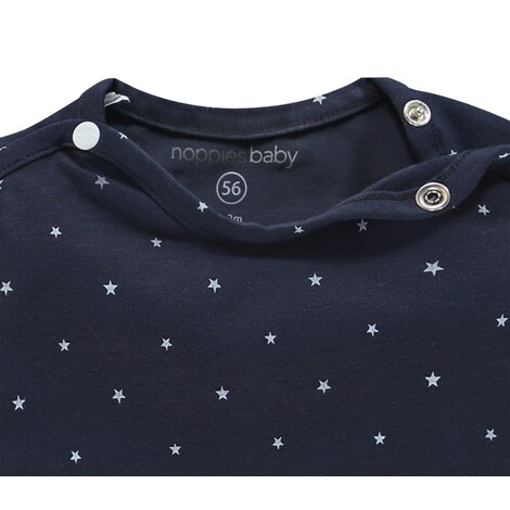 NoppiesLangarmshirt Collin  Navy 3