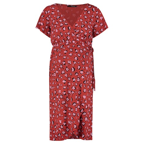 SupermomKleid Flower  Chinese Red 1