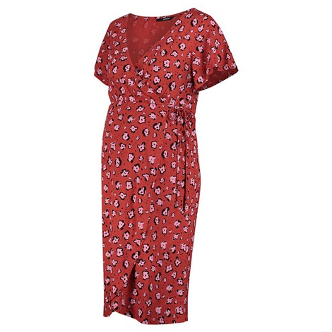 SupermomKleid Flower  Chinese Red 3