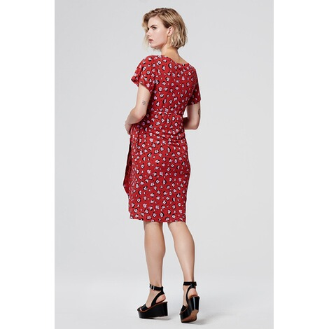 SupermomKleid Flower  Chinese Red 4