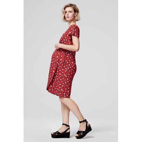 SupermomKleid Flower  Chinese Red 5