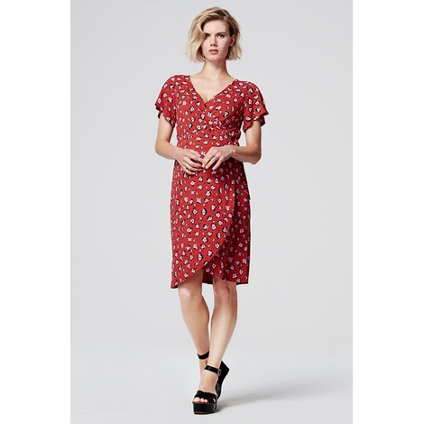 SupermomKleid Flower  Chinese Red 7