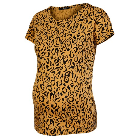 SupermomT-shirt Leopard  Honey Mustard 3