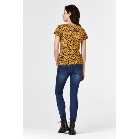 SupermomT-shirt Leopard  Honey Mustard 4