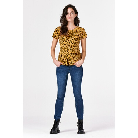 SupermomT-shirt Leopard  Honey Mustard 7