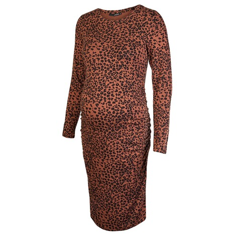 SupermomKleid Brown Leopard  Tortoise Shell 3
