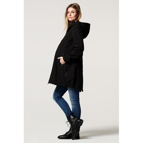 NoppiesUmstandsjacke Winter Rosann  Black 5