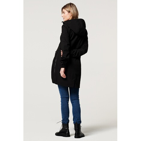 NoppiesUmstandsjacke Winter Rosann  Black 10