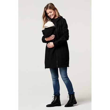 NoppiesUmstandsjacke Winter Rosann  Black 14