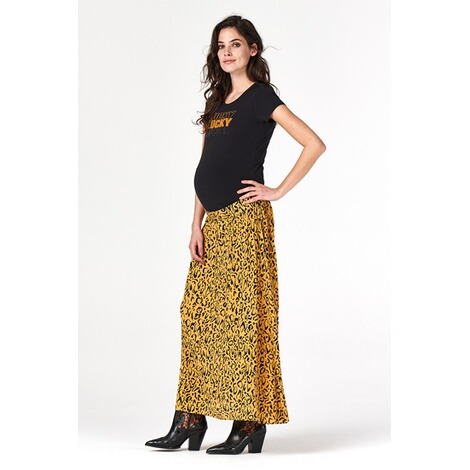 SupermomUmstandsrock Leopard  Honey Mustard 8