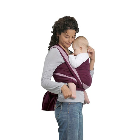 AMAZONASTREND LINEBabytragetuch Carry Sling 510cm  brombeer/rosa 2