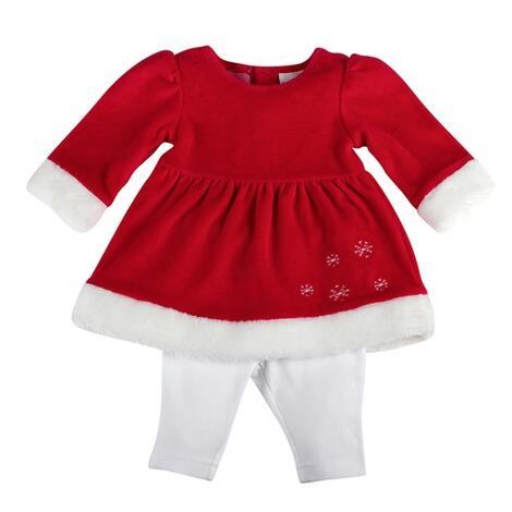 Bornino Festliche Mode 2 Tlg Set Kleid Langarm Mit Leggings Online Kaufen Baby Walz