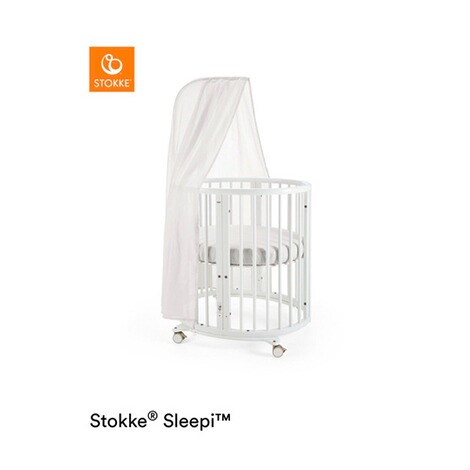 Stokke®SLEEPI™Babybett mit Matratze Sleepi Mini (0 - 6 Monate)  White 2