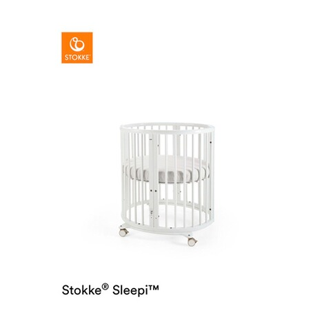 Stokke®SLEEPI™Babybett mit Matratze Sleepi Mini (0 - 6 Monate)  White 1