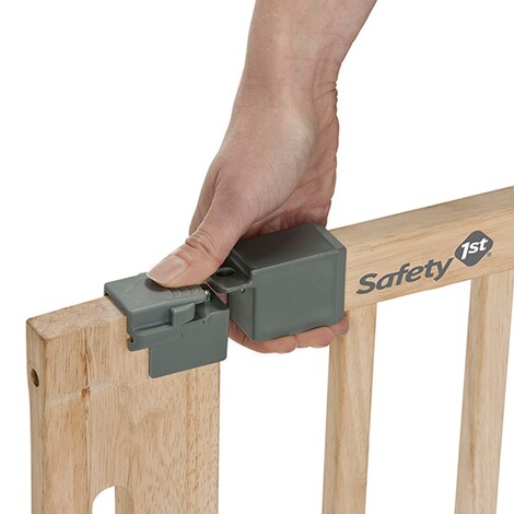 Safety 1stTürschutzgitter Easy Close Wood 73-80,5 cm 9
