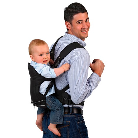 HauckBabytrage 3-Way-Carrier, 3 Tragepositionen  black 12