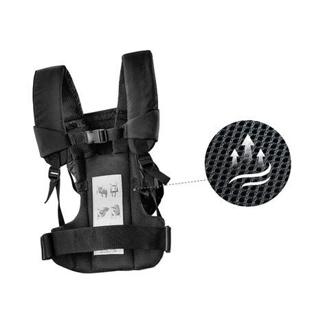 HauckBabytrage 3-Way-Carrier, 3 Tragepositionen  black 7
