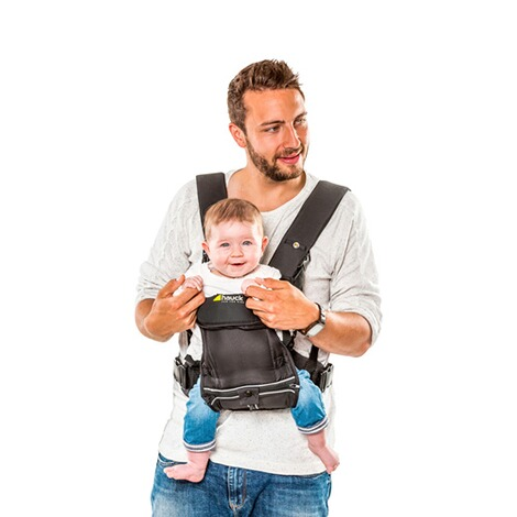 HauckBabytrage 3-Way-Carrier, 3 Tragepositionen  black 8