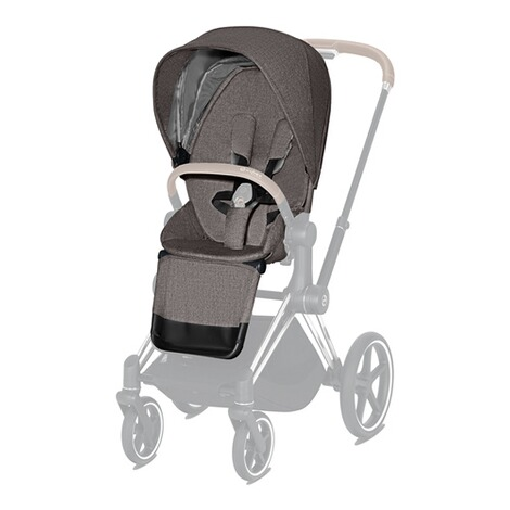 CybexPLATINUMSitzpaket Plus für PRIAM, e-PRIAM  manhattan grey 4