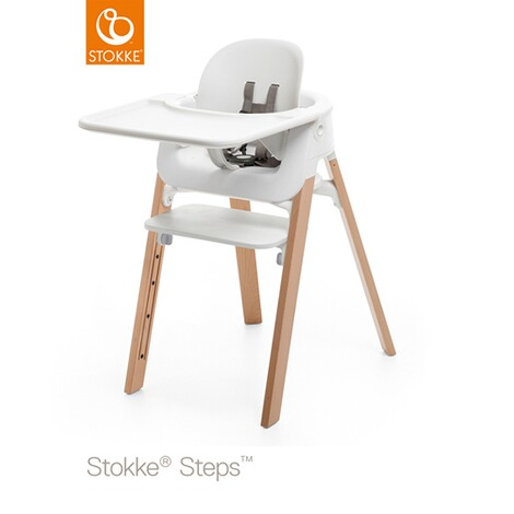 Stokke®STEPS™Baby Set Tray  weiss 3