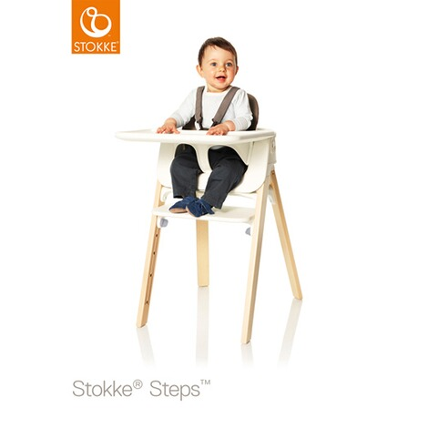 Stokke®STEPS™Baby Set Tray  weiss 2