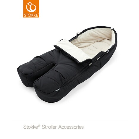 Stokke®Winter-Fußsack für Kinderwagen Xplory, Trailz  black 1