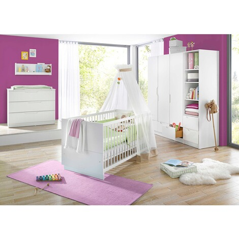 Geuther3-tlg. Babyzimmer Fresh 1