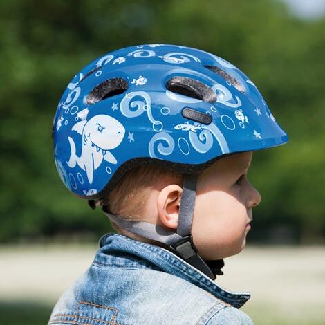 Abus Jungen Smiley 2.0 Fahrradhelm 50-55 cm Black Space