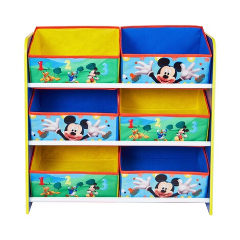 Worlds ApartDISNEY MICKEY MOUSE & FRIENDSAufbewahrungsregal + 6 Boxen 3