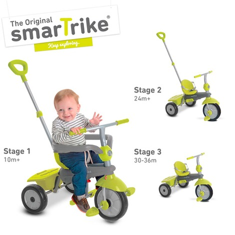 smarTrikeDreirad Breeze 3 in 1  grün 4