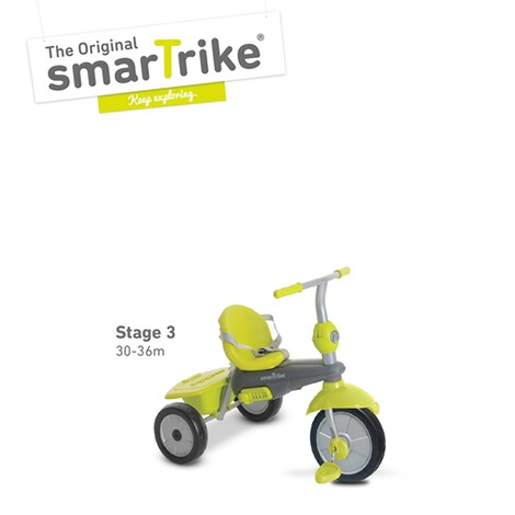smarTrikeDreirad Breeze 3 in 1  grün 3