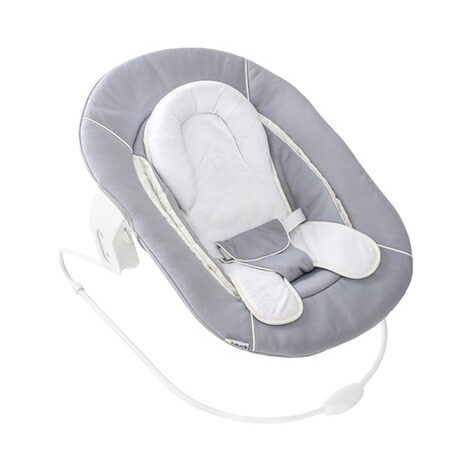HauckTreppenhochstuhl Alpha+ inkl. Babywippe Alpha Bouncer 2in1  grey / stretch grey 6