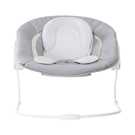 HauckTreppenhochstuhl Alpha+ inkl. Babywippe Alpha Bouncer 2in1  grey / stretch grey 7