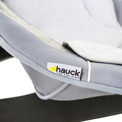 HauckBabywippe Alpha Bouncer 2in1  stretch grey 13